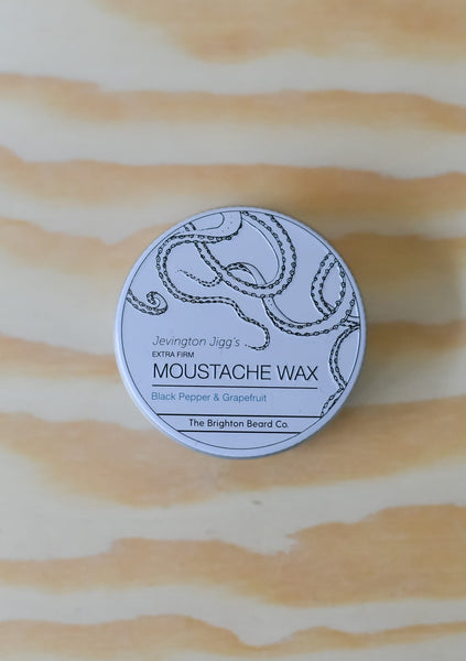 Black Pepper & Grapefruit Moustache Wax