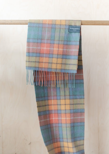 Cashmere Men's Scarf in Buchanan Antique Tartan