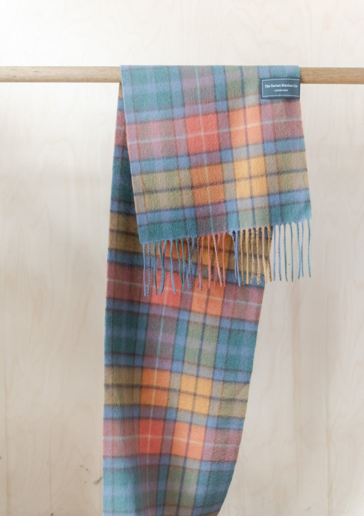 Lambswool Scarf in Buchanan Antique Tartan