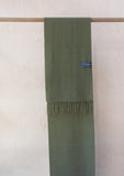 Lambswool Scarf in Olive