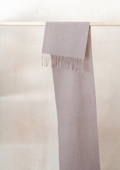 Lambswool Scarf in Taupe