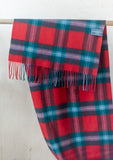 Lambswool Oversized Scarf in Maclaine of Lochbuie Tartan