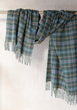 Lambswool Blanket Scarf in Mackenzie Weathered Tartan