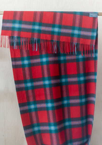 Lambswool Blanket Scarf in Maclaine of Lochbuie Tartan