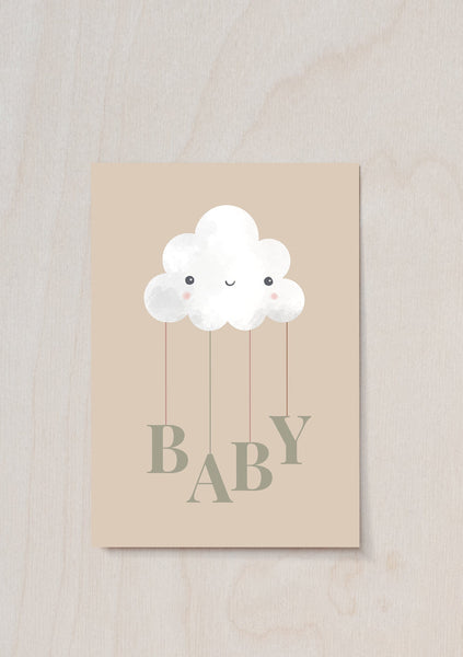 Baby Cloud Gift Note & Treat