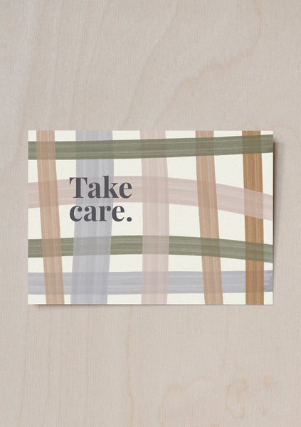 Take Care Gift Note & Treat