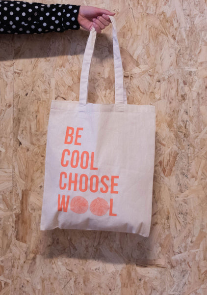 Be Cool Choose Wool Tote Bag