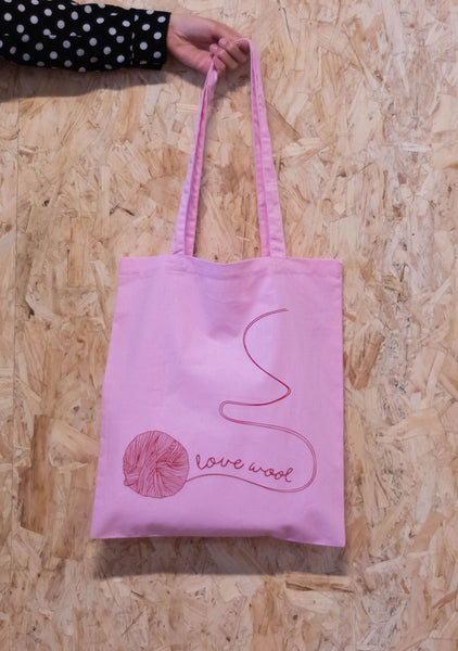Love Wool Tote Bag