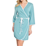 La Jolla Bamboo Rayon Spa Robe (6 colors)