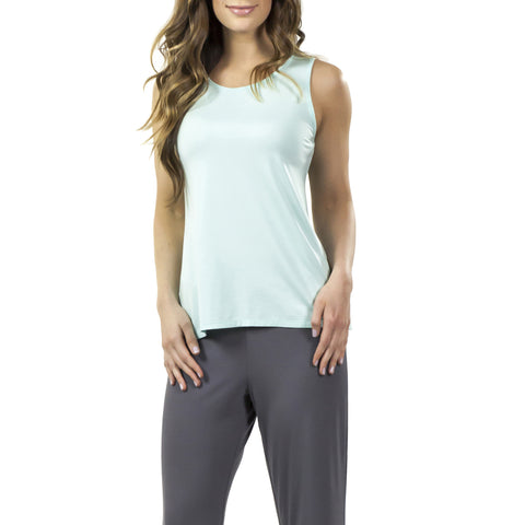 Aruba Sleeveless Bamboo Rayon Top (2 colors)