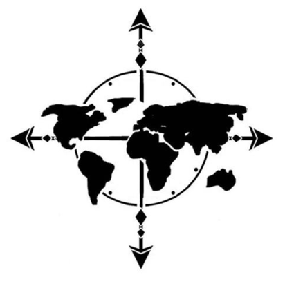 Inkbox stocking stuffers inkbox done a great job teaching you all about this great big world its cultures and conflicts gift him or her this world map tattoo to show your thanks gumiabroncs Choice Image