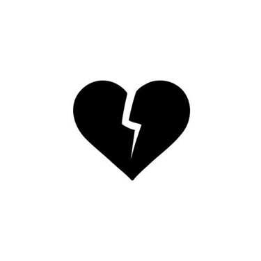 a07c7fdd92217 ... with our breaking heart temporary tattoo. With a bolt of lightning  severing this heart in two, tell the world that loving you is like getting  struck by ...