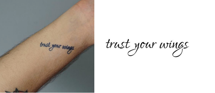 New year mantra tattoo inspiration jan 5 2018 inkbox ink this phrase on your skin and repeat it to yourself often in order to feel confident in your abilities and your vision knowing that you do have it in solutioingenieria Image collections