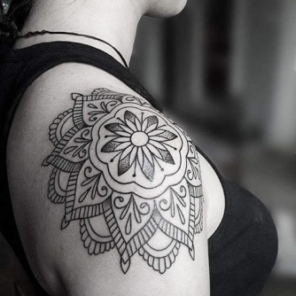 Shoulder Tattoo Ideas For Women Inkbox
