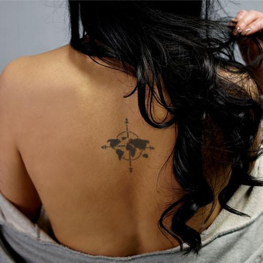 Tattoos for wanderlust in 2018 inkbox places youve visited the destinations youve yet to traverse and your existence in the context of global affairs these five maps come in a variety gumiabroncs Images
