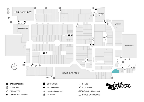 yorkdale map