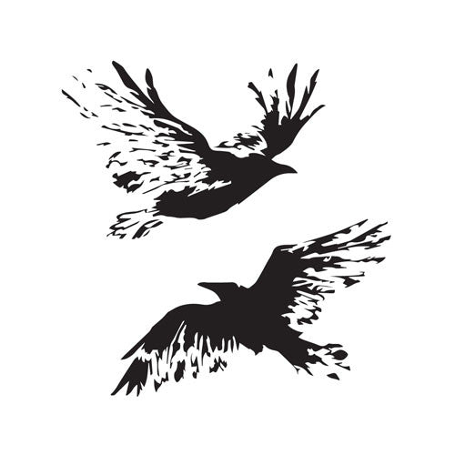 Two Ravens [THE MUMMY]-inkbox temporary tattoo - 6