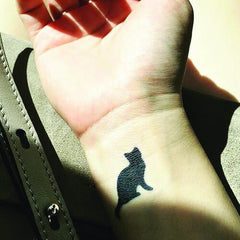 Gato - inkbox temporary  tattoo - 5