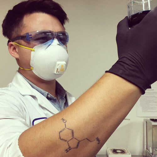 Serotonin - inkbox tattoos - 1