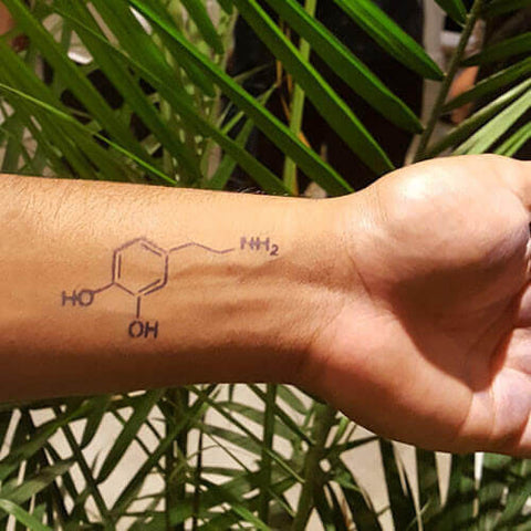 Dopamine - inkbox temporary tattoo - 1