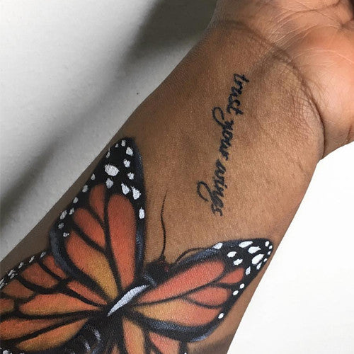 Marabou-inkbox temporary tattoo - 1