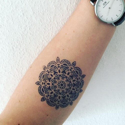 Yantra-inkbox temporary tattoo - 3