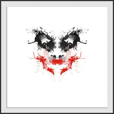 Impresos: ArtPrint The Joker Rorschach Tv y Cine Ilustración