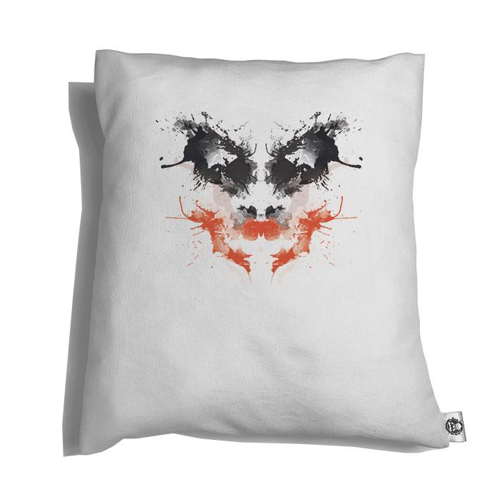 Accesorios: Cojín Decorativo The Joker Rorschach Tv y Cine Ilustración