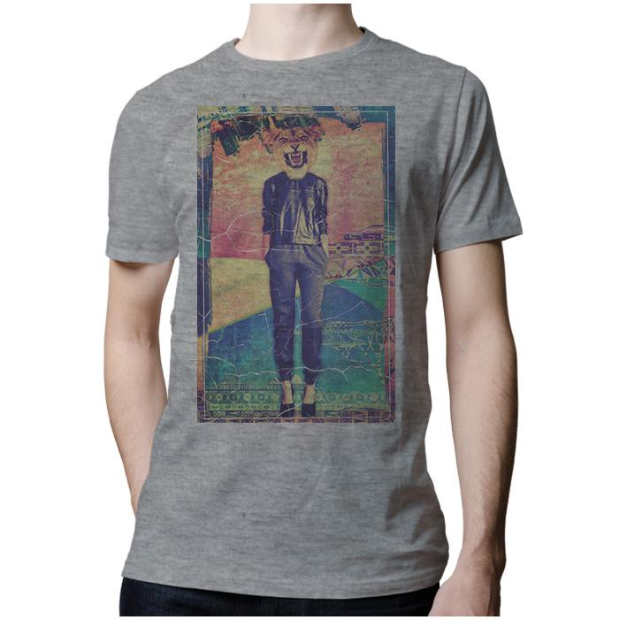 Ropa: Playera Hombre Animales Hipsters Pacheco Animales
