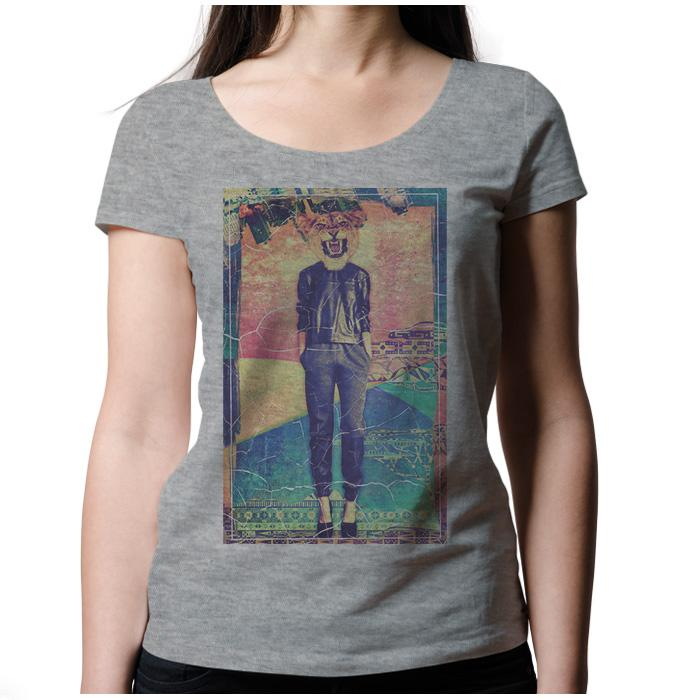 Ropa: Playera Mujer Animales Hipsters Pacheco Animales