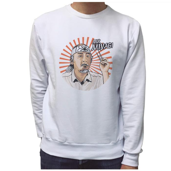 Ropa: Sudadera Unisex Karate Kid - Mr. Miyagi Tv y Cine Geek