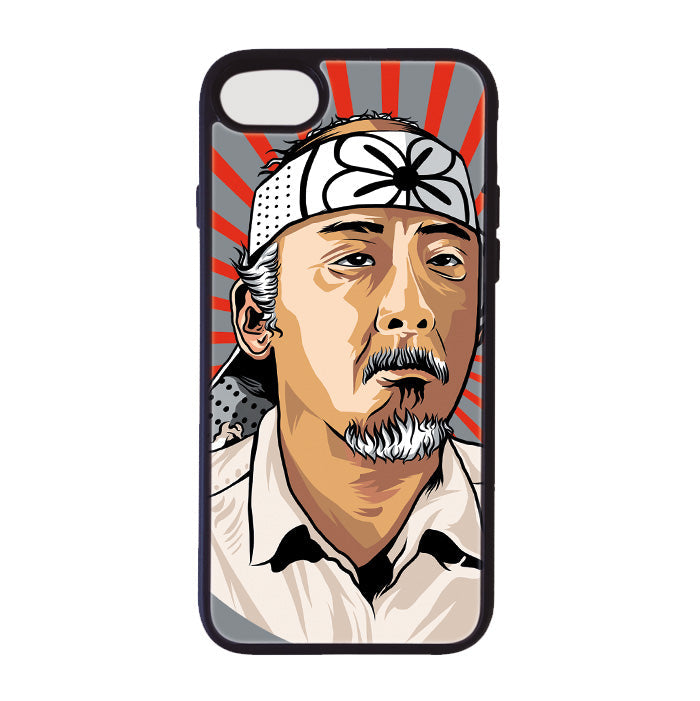 Accesorios: Funda Celular Karate Kid - Mr. Miyagi Tv y Cine Geek