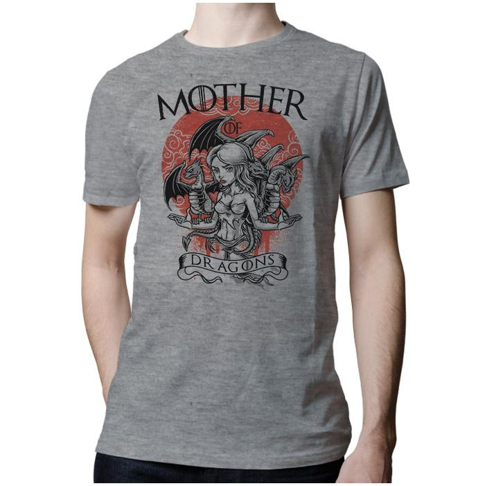 Ropa: Playera Hombre Mother Of Dragons - Game Of Thrones Geek Tv y Cine