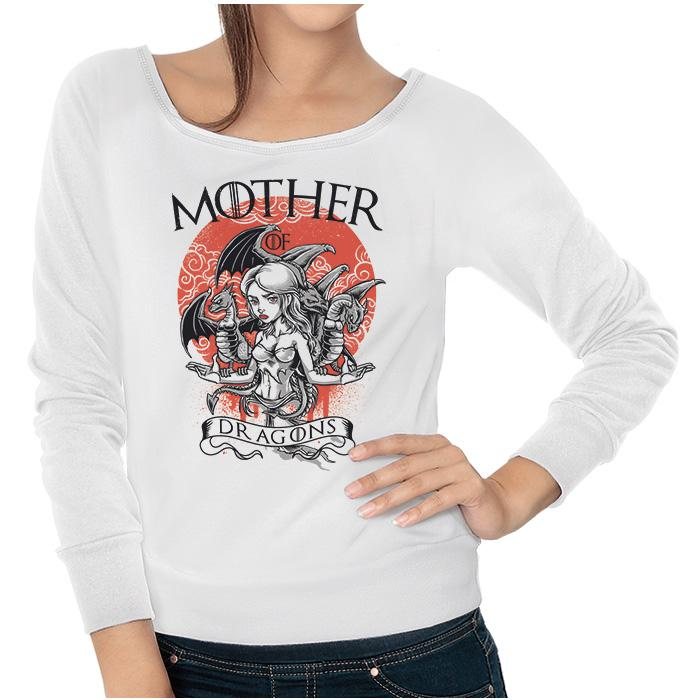 Ropa: Sudadera Mujer Mother Of Dragons - Game Of Thrones Geek Tv y Cine