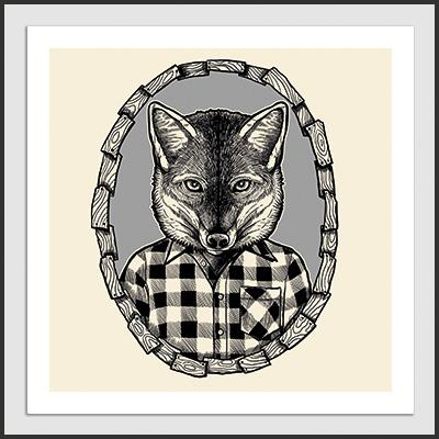Impresos: ArtPrint Fantastic Mr Fox Tv y Cine Moda