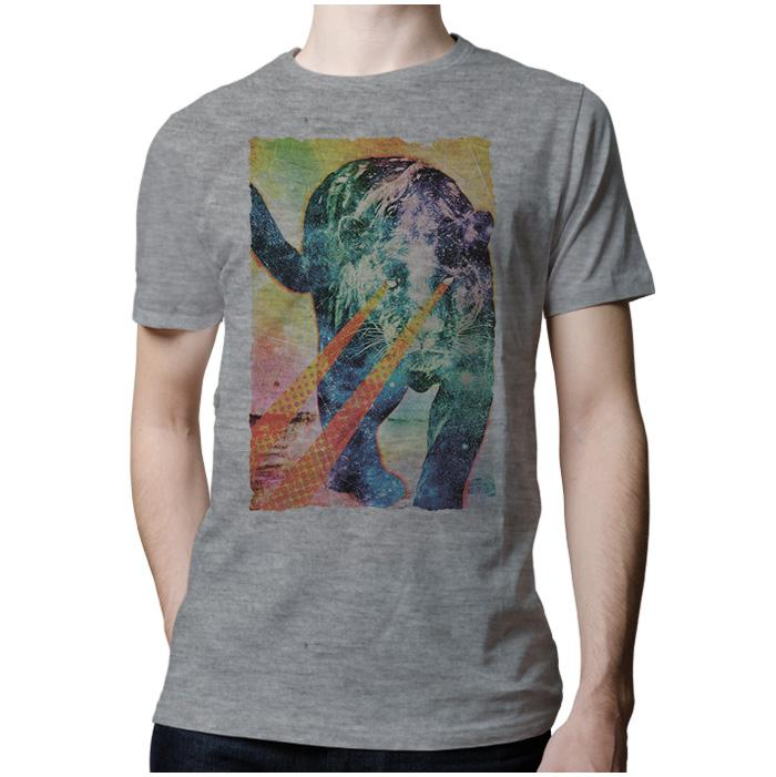 Ropa: Playera Hombre Psycat Pacheco Animales