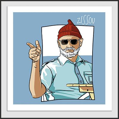 Impresos: Poster The Life Aquatic - Steve Zissou Moda Tv y Cine