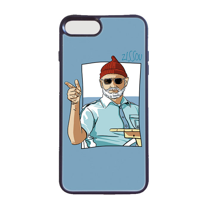 Accesorios: Funda Celular The Life Aquatic - Steve Zissou Moda Tv y Cine