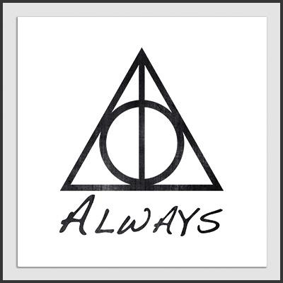 Impresos: ArtPrint Harry Potter Snape Always Tv y Cine Personajes