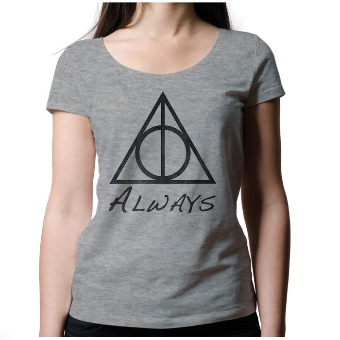 Ropa: Playera Mujer Harry Potter Snape Always Tv y Cine Personajes