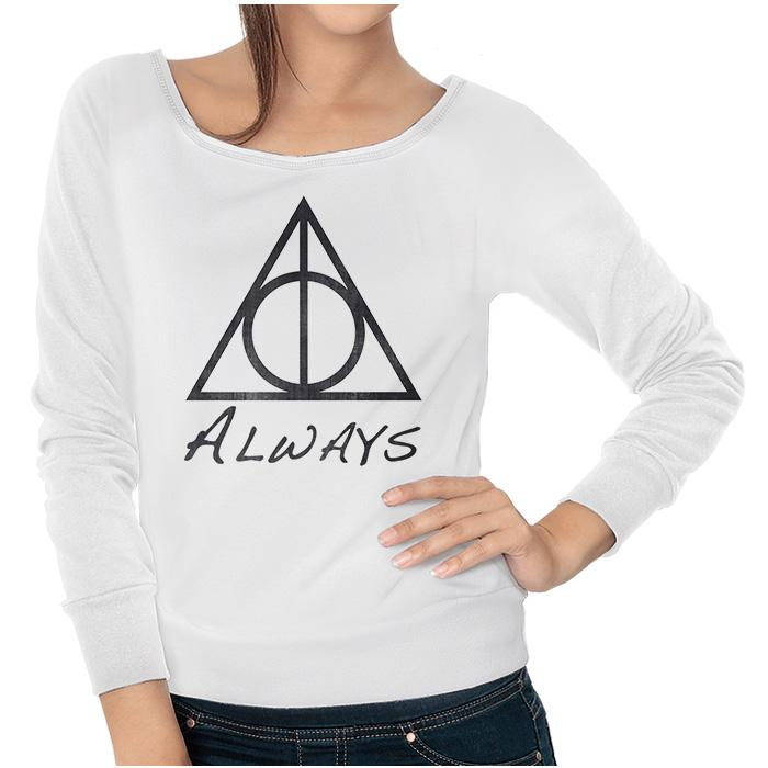 Ropa: Sudadera Mujer Harry Potter Snape Always Tv y Cine Personajes