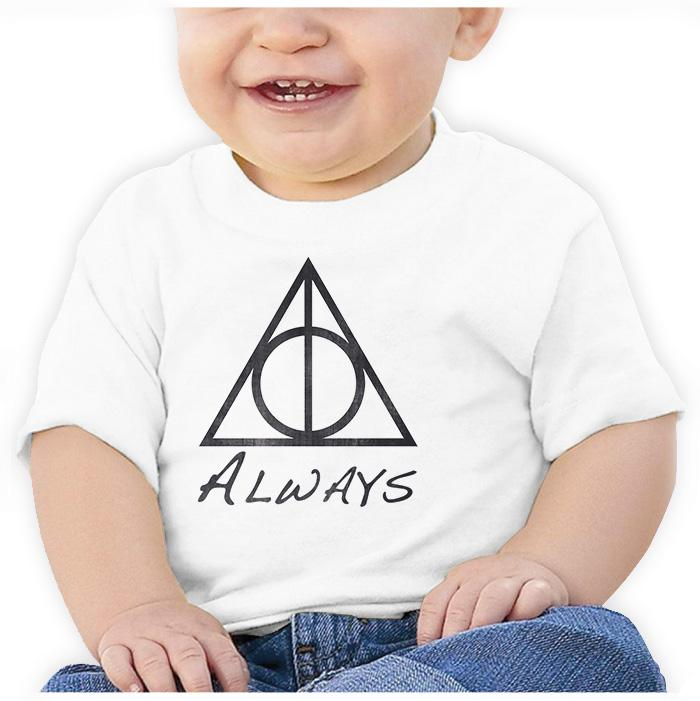 Ropa: Playera Bebé Harry Potter Snape Always Tv y Cine Personajes