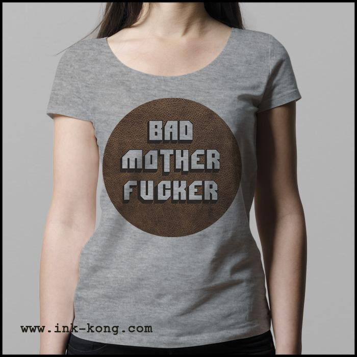 Ropa: Playera Mujer Pulp Fiction Tarantino Bad Mother Fucker Tv y Cine Personajes