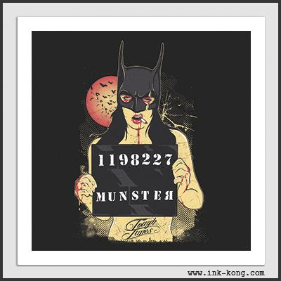 Impresos: ArtPrint Batichica batman cat woman y otros super heroes Moda Tv y Cine