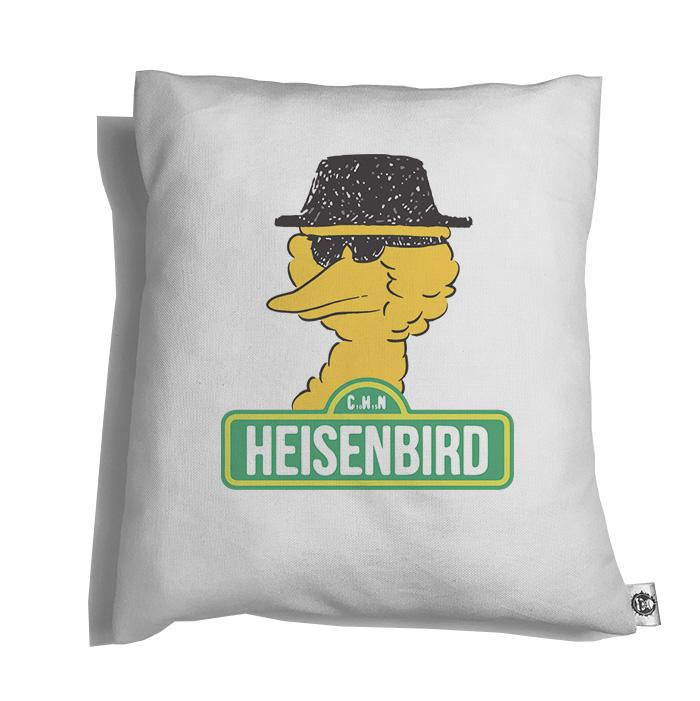 Accesorios: Cojín Decorativo Breaking Bad y Big Bird Humor Tv y Cine