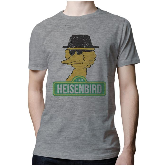 Ropa: Playera Hombre Breaking Bad y Big Bird Humor Tv y Cine