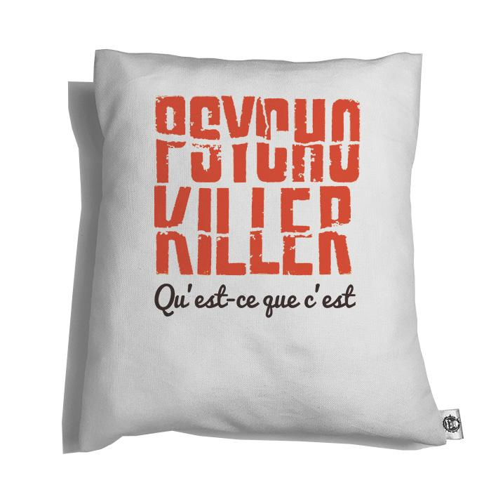 Accesorios: Cojín Decorativo Talking Heads Psycho Killer Moda Frases
