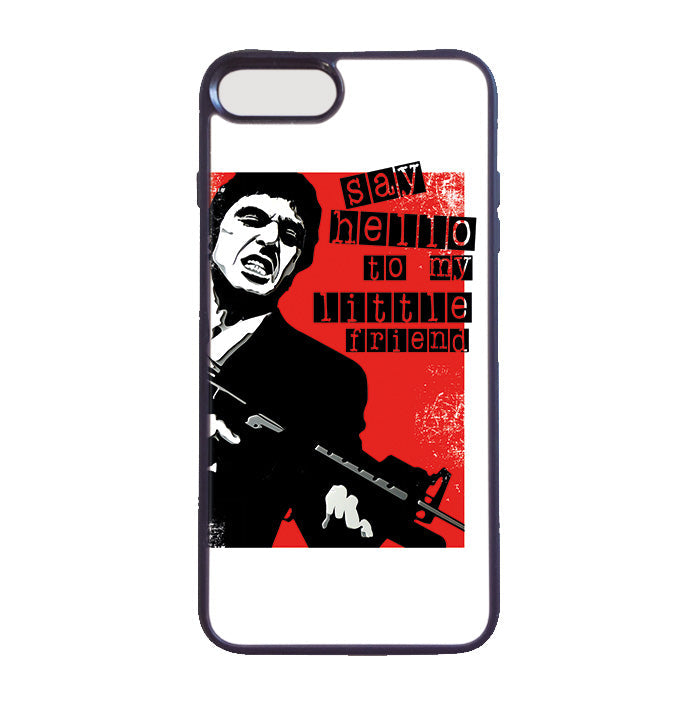Accesorios: Funda Celular Tony Montana: Say Hello To My Little Friend Tv y Cine Personajes