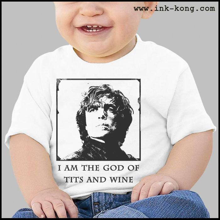 Ropa: Playera Bebé Game of thrones Tyron Tv y Cine Personajes