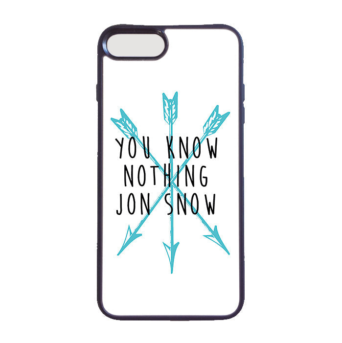Accesorios: Funda Celular You Know Nothing Jon Snow. Playeras de Game Of Thrones Mexico Tv y Cine Personajes